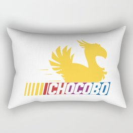 Nascar Chocobo Racing Rectangular Pillow