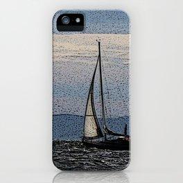 Sailing on the Oslofjord iPhone Case