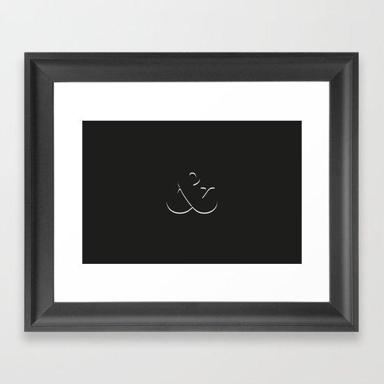 Et alors ? Framed Art Print