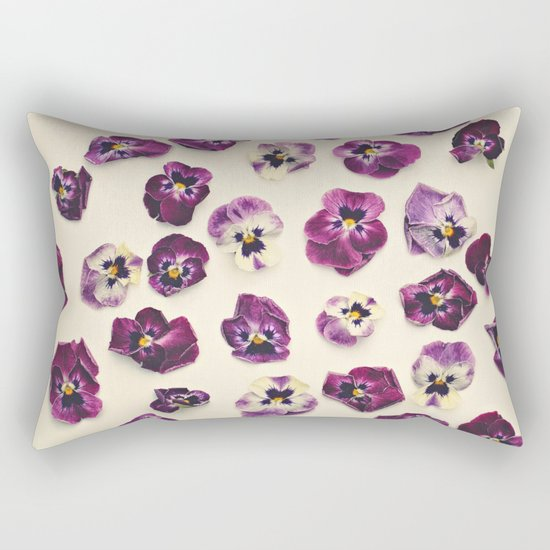 Violas  Rectangular Pillow