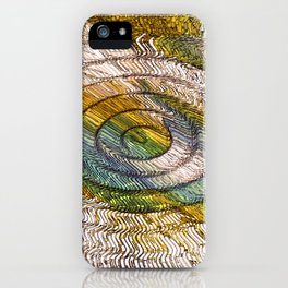 """UFO Crop Circles"" Print iPhone Case"