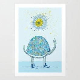 'Skygazer' Art Print