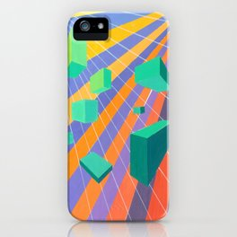 Dayglo Heaven iPhone Case
