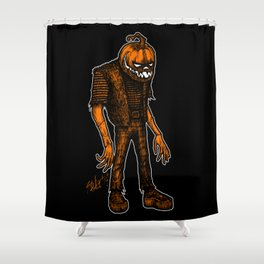 Autumn People 4 Shower Curtain