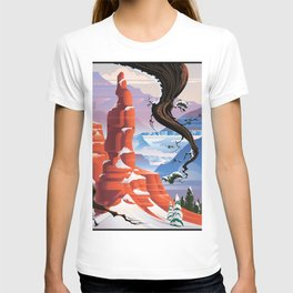 BRYCE CANYON IN WINTER T-shirt