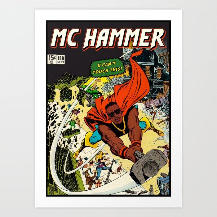 DANGEROUS HAMMER Kunstdrucke