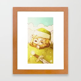 Melancolic Link Framed Art Print