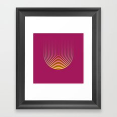 U like U Framed Art Print