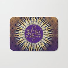 Inspire Artistry • Do What You Love Bath Mat
