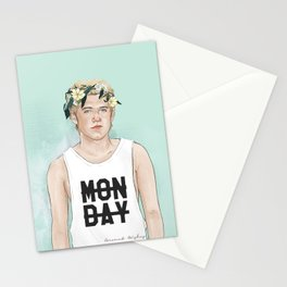 Flower crown Niall Stationery Cards