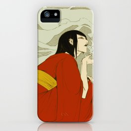 volcano -day version- iPhone Case