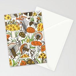 Hand-drawn Mushrooms Stationery Cards