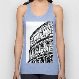 Colosseum, Rome Unisex Tank Top