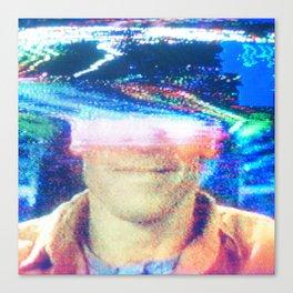 Tape Brain Canvas Print