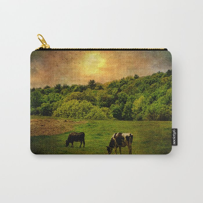 Cows in the Field Carry-All Pouch