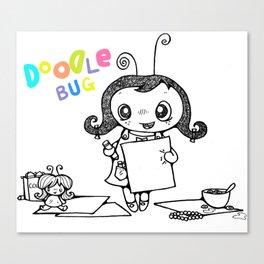 Doodle Bug Canvas Print