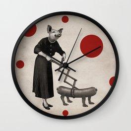 Anthropomorphic N°17 Wall Clock