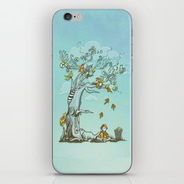 I Hear Music in Everything iPhone Skin