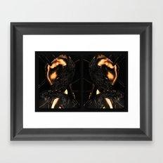 Puppet Master (Rain) Framed Art Print