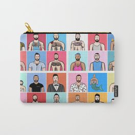 Beard Boy: Collage Carry-All Pouch