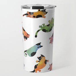 12 cats Travel Mug