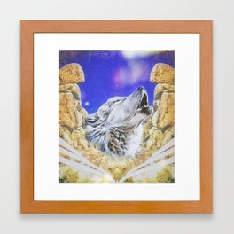 Blender Framed Art Print