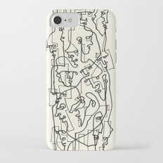 Curves And Lines iPhone 7 Slim Case