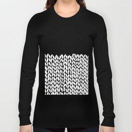 Half Knit Long Sleeve T-shirt