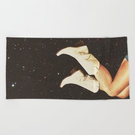 These Boots - Space Beach Towel
