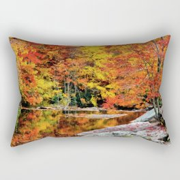 Autumn Reflection Rectangular Pillow