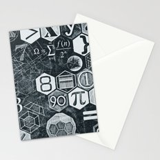 Math Class Stationery Cards