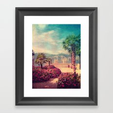 MALCESINE Framed Art Print