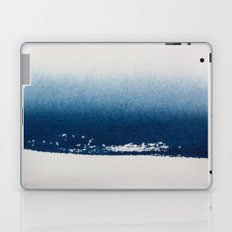 NAVY GRADIENT WATERCOLOUR CONTRAST Laptop & iPad Skin