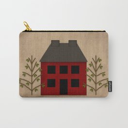 Primitive Country House Carry-All Pouch
