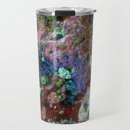 Long convoluted purple nudibranch Travel Mug