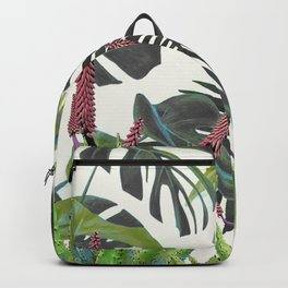 Watercolor Plants II Backpack
