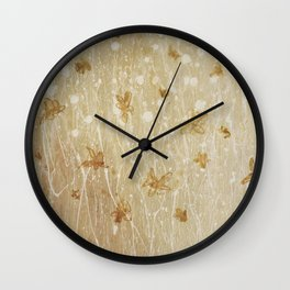 little Flower Wall Clock