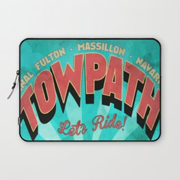 Canal Fulton Massillon Navarre Towpath Bicycle Adventure Laptop Sleeve