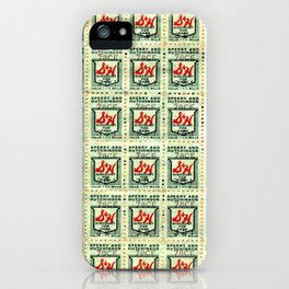 S&H GREEN STAMPS iPhone Case