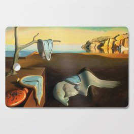 Persistence of Memory Cutting Board