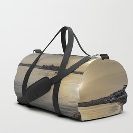 Bodrum Bay Sunset Duffle Bag