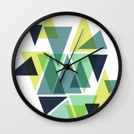 Forestry Wall Clock