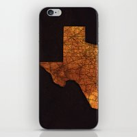 texas iPhone & iPod Skins featuring Texas by Taylor Wilson Graphics