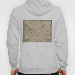 Vintage Map of Downtown Boston MA (1911) Hoody