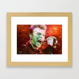 BOWIE - Limited Edition Commemorative Print Framed Art Print