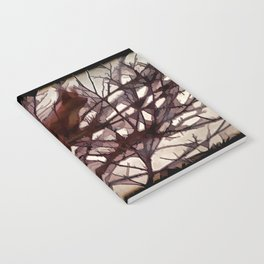 Squirrel glass IV Notebook