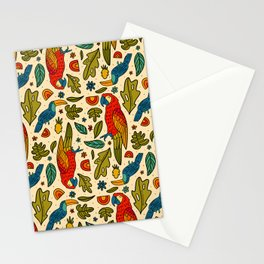 Parrot Print Stationery Cards