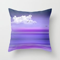 EVENING DUSK Throw Pillow