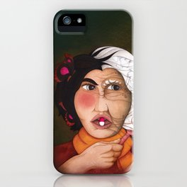 A Pill for Eternal Youth? iPhone Case