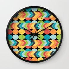 Retro Color Play Wall Clock